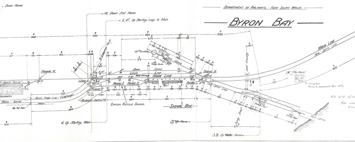 drawing-of-byron-bay-line-1934